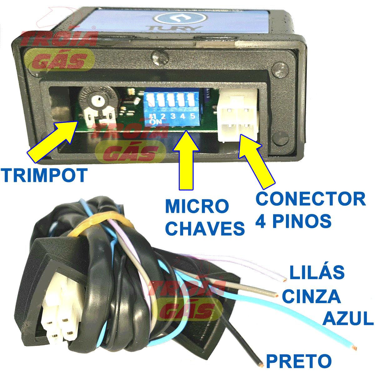 Simulador de Sonda TURY T634 = T63 + T64 + Especial